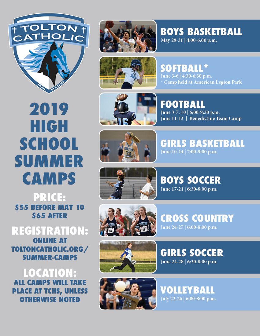 HighSchoolSummerCamps2019