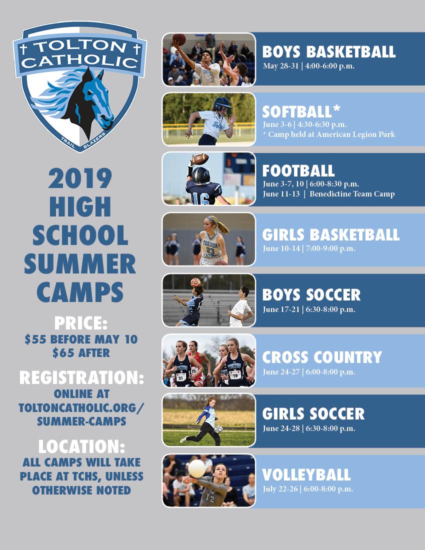 Summer Camps | Fr  Tolton Catholic High School